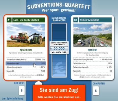 Subventions-Quartett