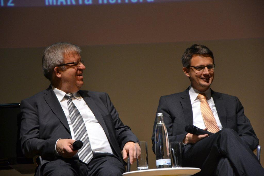 Pastor Ulrich Pohl und Dr. Andreas Hettich